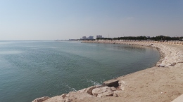 Great Coastal View of the Persian Gulf