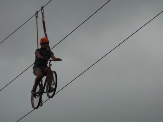 Just an ordinary bike ride