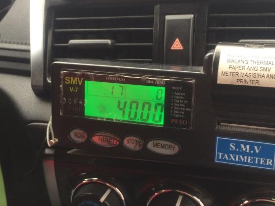 taxi plugdown rate