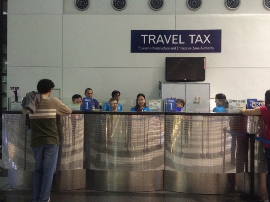 Travel Tax Counter