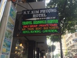 Staying at N.Y. Kim PhuongHotel