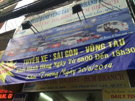 Mekong Express Limousine Bus banner