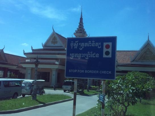 Bavet, Cambodia International Border Gate