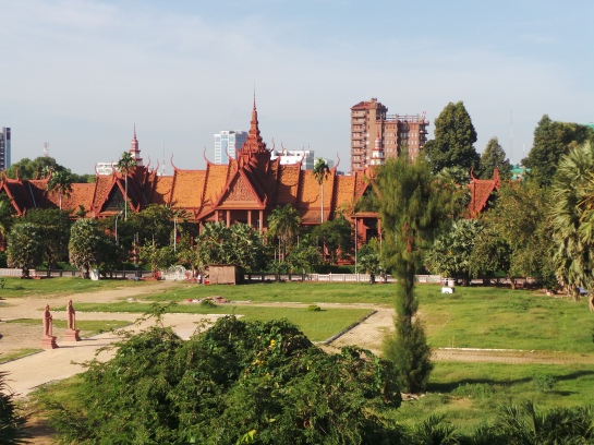 National Museum of Cambodia at sunrise