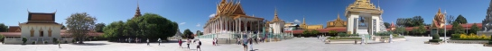 Panorama of the Silver Pagoda
