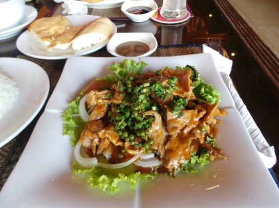 My Fave Khmer Dish, Beef Loc Lak
