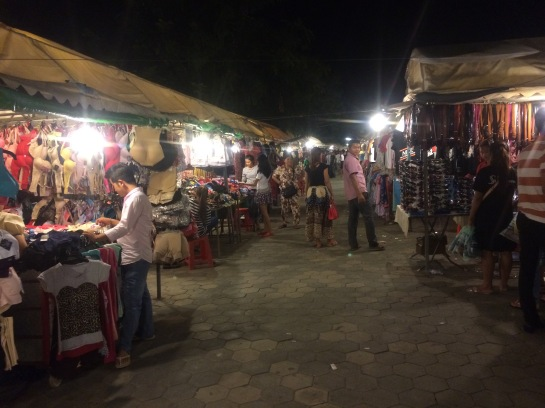 Stalls in the Night Market
