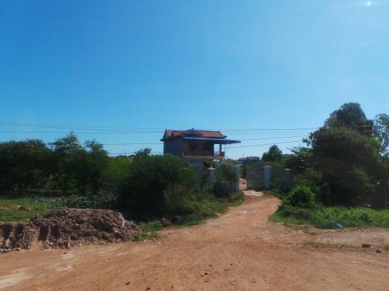 Kampong Cham village