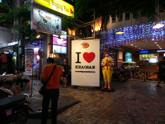 Khaosan Road during night