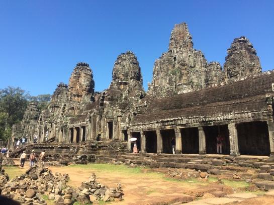 Bayon Temple view