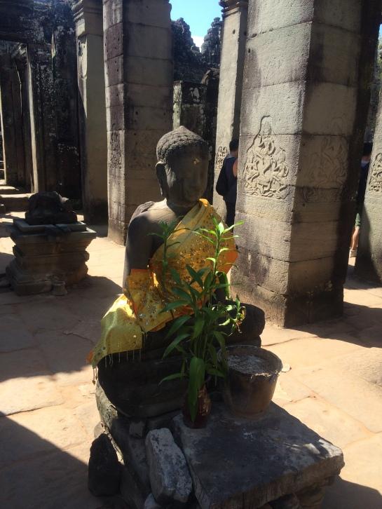 Buddha in Bayon Temple