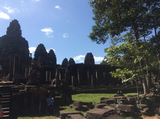 Rear view of Bayon Temple
