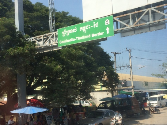 Cambodia - Thailand border