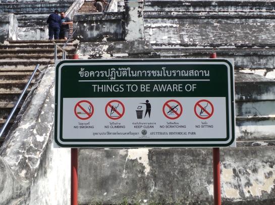 Notice to Tourists