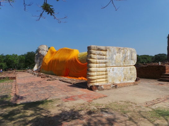 The Feet of the Reclining Buddha