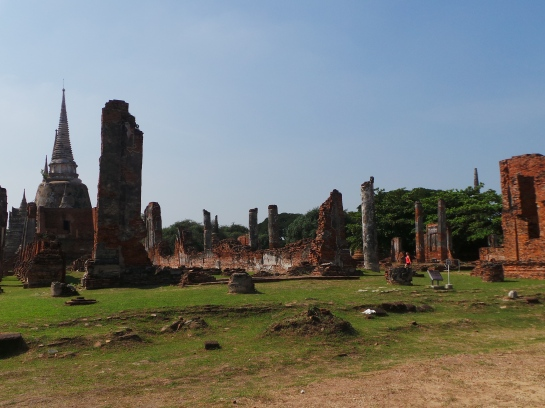 Wat Phra Si Sanphet temple grounds