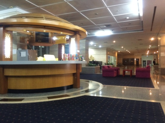 Snack Counter in the Lobby
