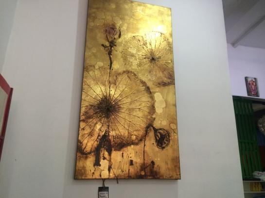 Wall painting at YOLO cafe