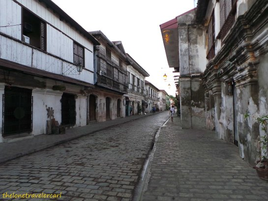 Calle Crisologo by day