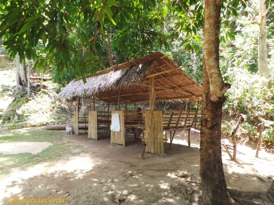Cottages are available for PhP100