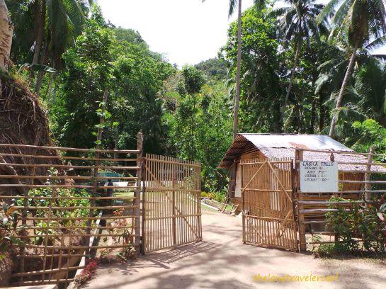 Gate to Casica Falls