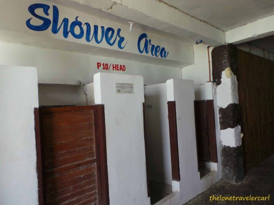 Shower Area for PhP10/head