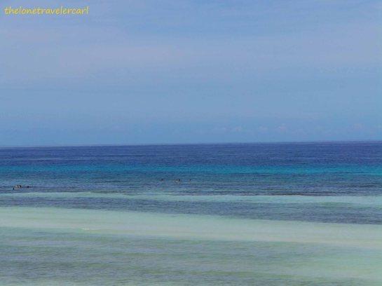 The Oh-So-Blue Beach