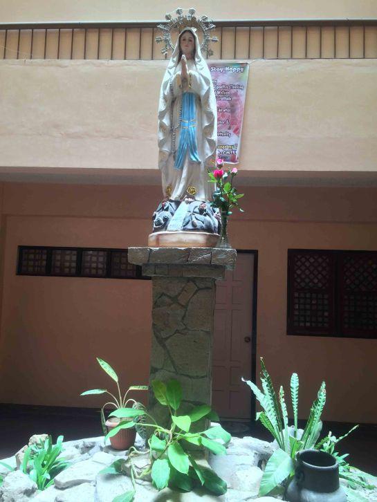 Mama Mary Altar