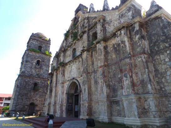Closer View of Paoay Church