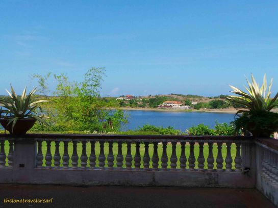 View of Paoay Lake from Malacanan Palace of the North