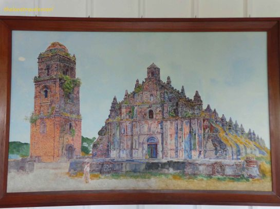 Paoay  Church Painting
