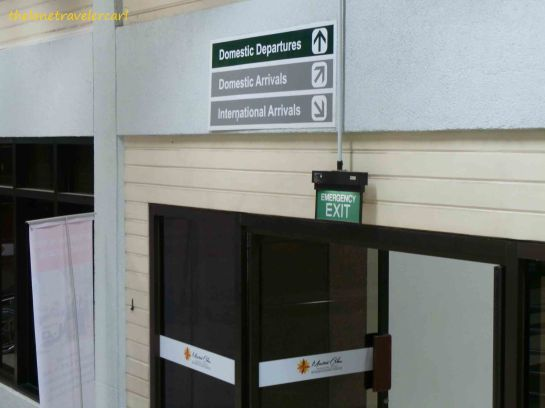 Easy access to both international and local gates