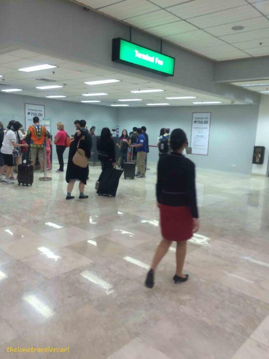 Terminal Fee Counter