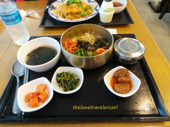 Traditional Bibimbap (mixed rice)