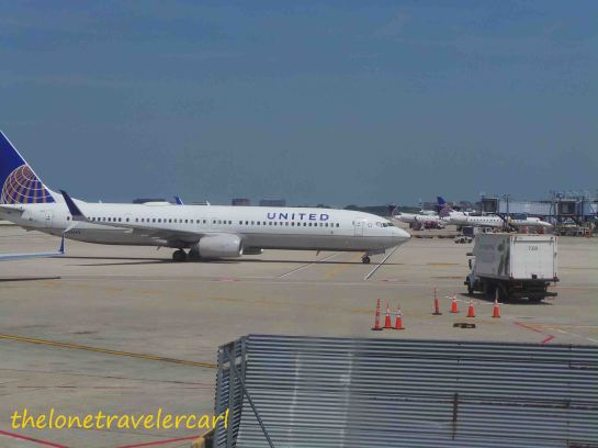 United Airlines at the TARMAC