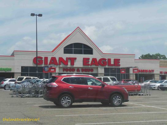 I got the time to explore Canton by visiting Giant Eagle.