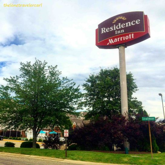 Residence Inn Marriott near Comfort Inn