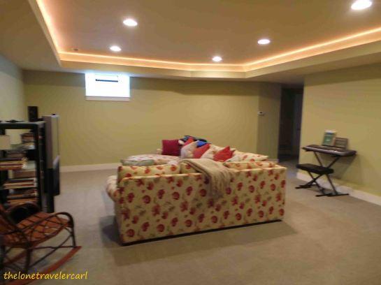 Lowerground living room
