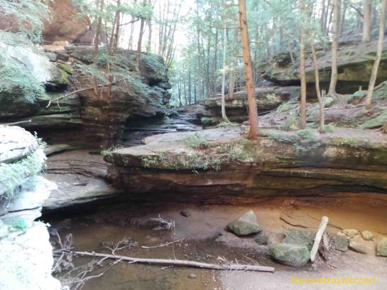 Old Man's Cave: Middle Falls