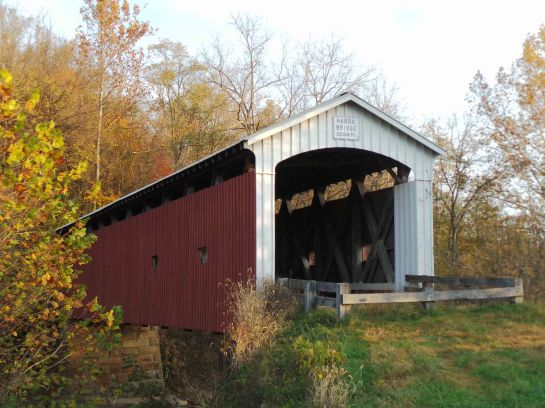Harra covered bridge in Watertown