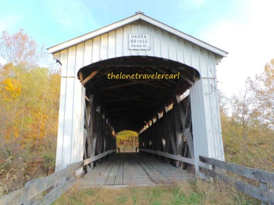 The long struss covered bridge