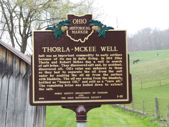 Thorla-McKee Well Historical Marker