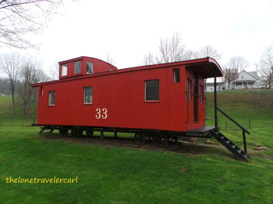 Wheel-Less Caboose